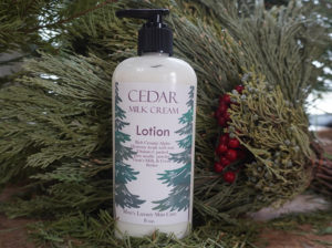Cedarwood & Milk Cream Lotion