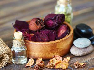 Soothing Herbal Rose Bath Tea