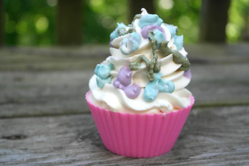 Lavender & Mint Cupcakes